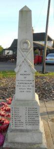 Cippenham War Memorial