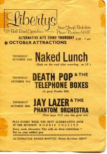 Alternative Night in Cippenham, 1982
