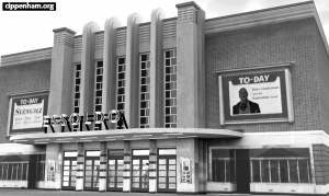 Theis building started out as the Commodore Cinema